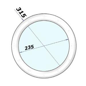 Hublot rond dimenion 315 mm