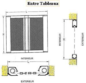 Pose de la moustiquaire latérale pour baie vitrée